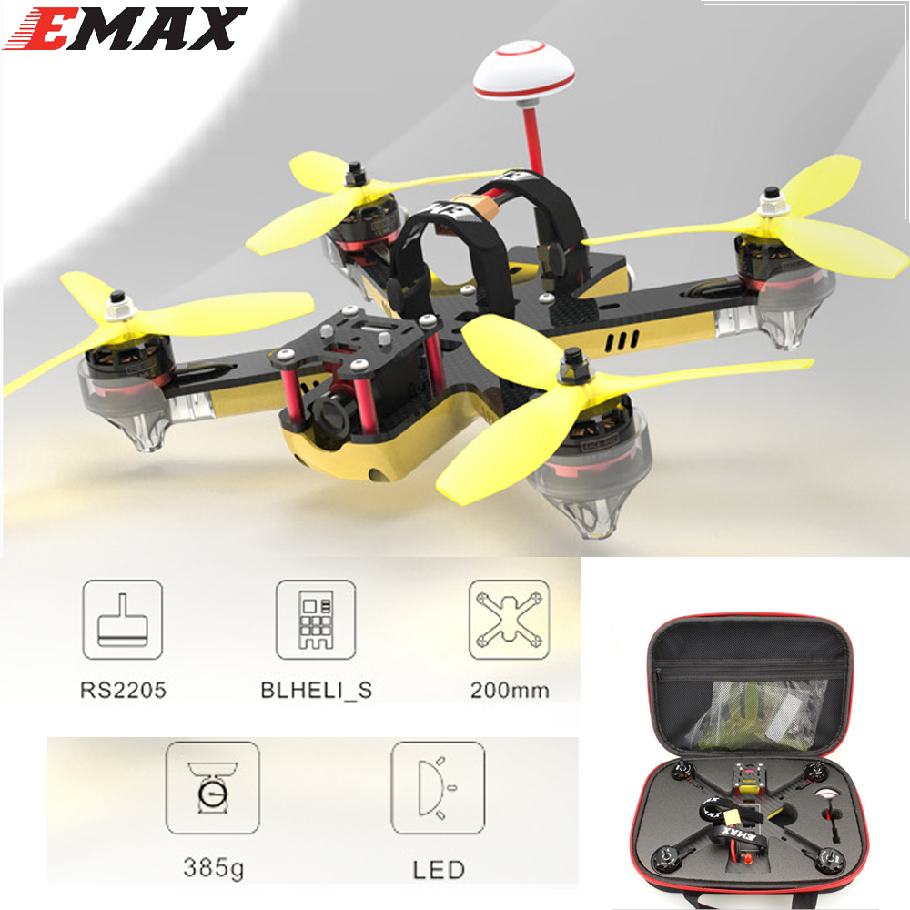 awesome ts 195 195mm f3 fpv racing drone pnp black and golden 1 set EMAX Nighthawk Pro 200 PNP Quadcopter 200mm F3 FPV Racing Drone With 5.8G 48CH 25-200mW VTX 600TVL CCD Camera