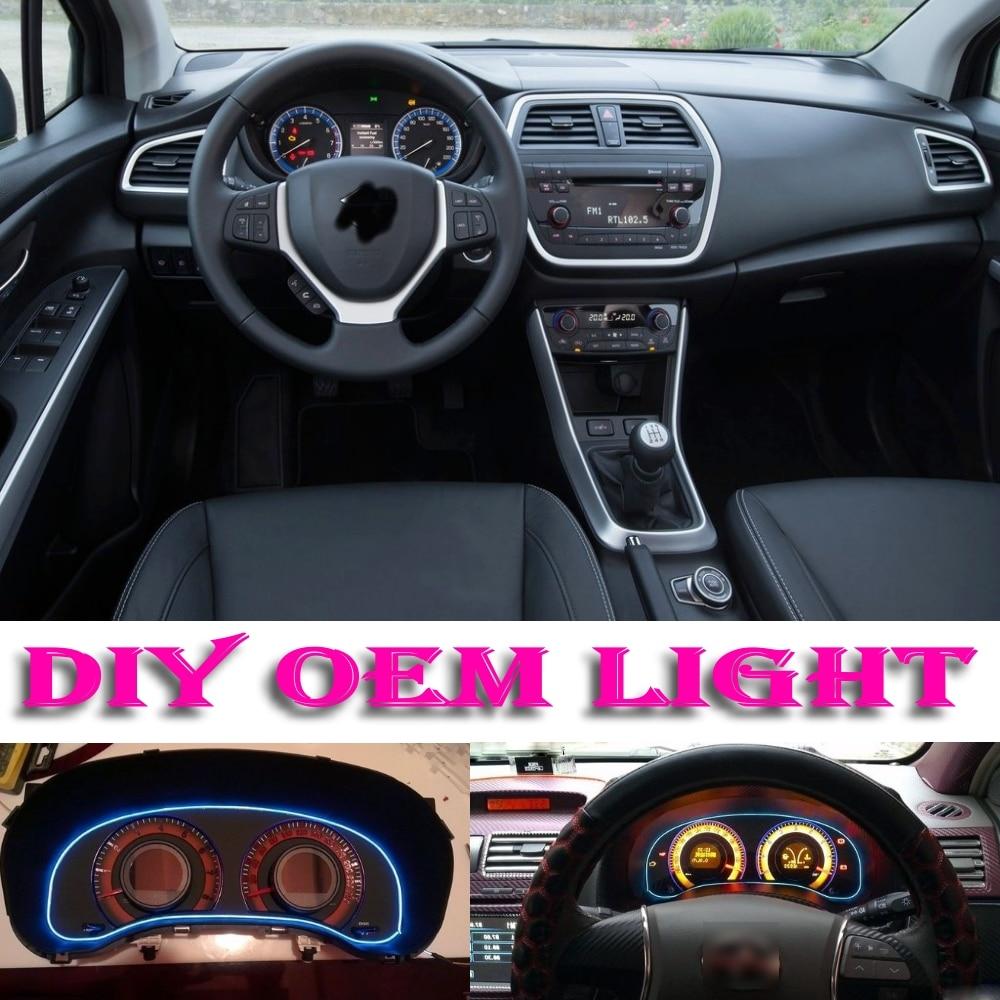 Neo Baleno: Car Atmosphere Light Flexible Neon Light EL Wire Interior