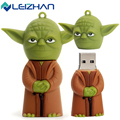 LEIZHAN R2d2&Yoda&Darth Vader USB Flash Drive 4g 8g 16g 32g 64g Pen Drive Star War USB Stick Pendrive Computer Memory Flash Card