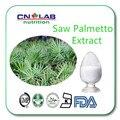 Высокое Качество Saw Palmetto Экстракт/экстракт Sababae serrulatae Плодов Saw palmetto Извлечение 25% Жирных Кислот 100 г/пакет
