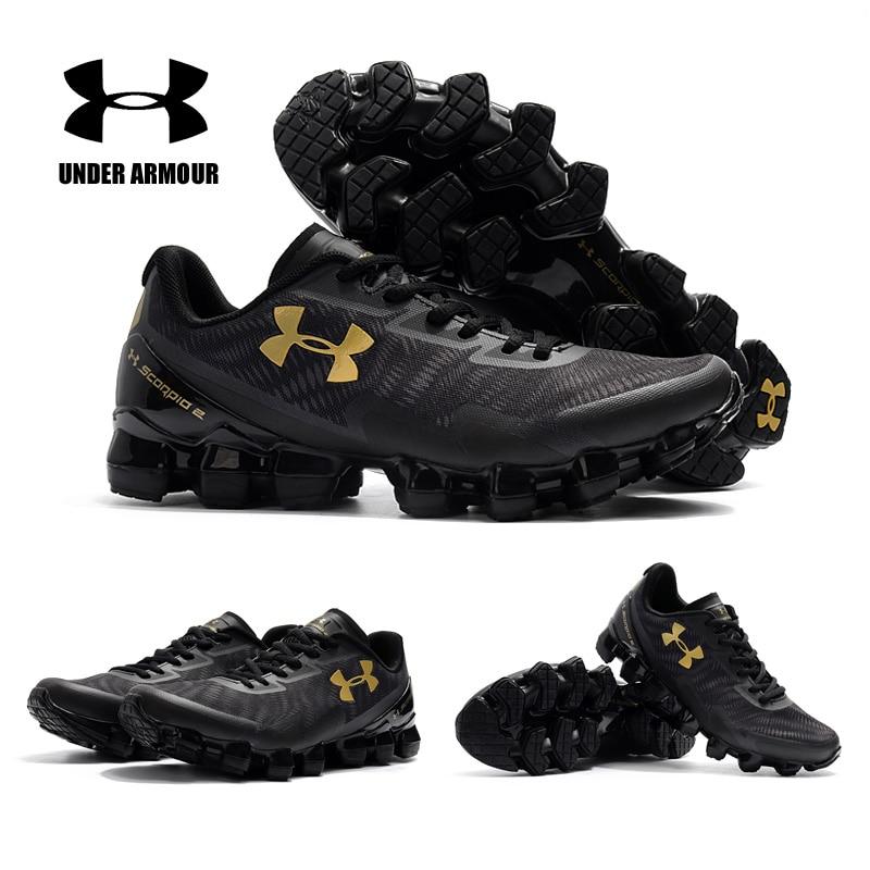 Under Armour UA Scorpio chaussures de course hommes gros pneu 2 zapatillas hombre léger respirant amorti baskets homme chaussures de Sport