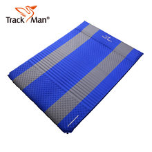 2 Person Waterproof Self-Inflating Dampproof Sleeping Pad Mat Moistureproof Tent Outdoor Camping Picnic Mattress Blanket(China)