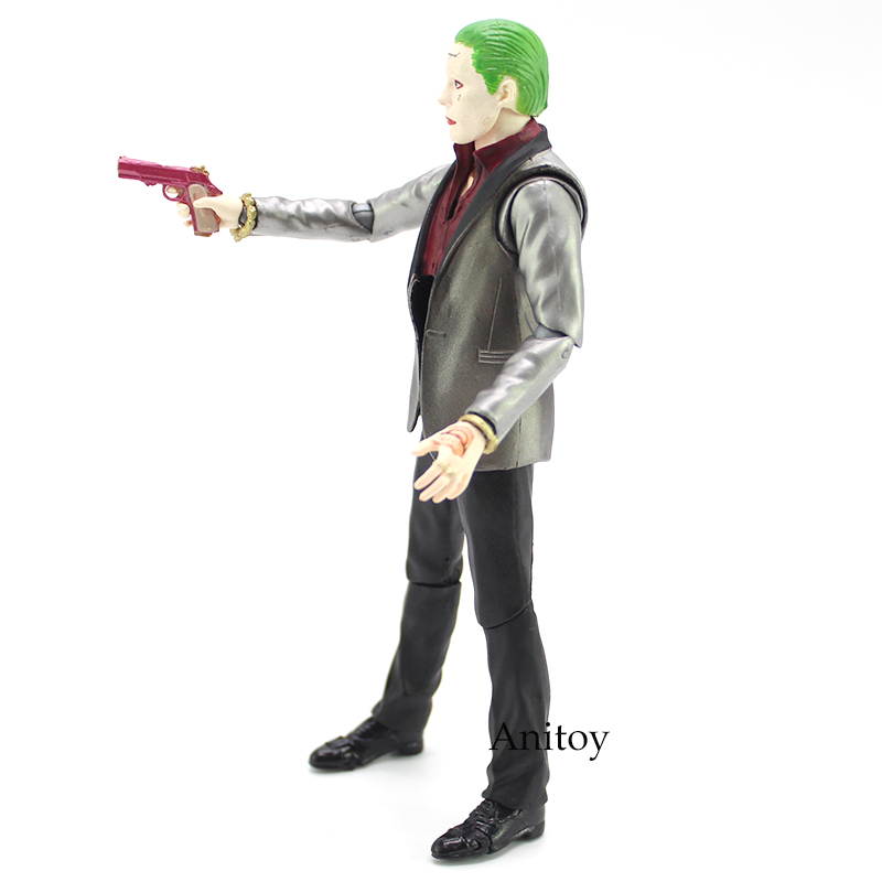 Genuine Suicide Squad The Joker PVC Action Figure Collectible Model Toy 15cm 1