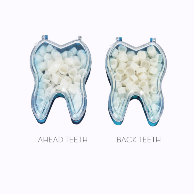 Oral Hygiene Teeth Whitening 2 Packs Pro Dental Temporary Crown Dental Anteriors Front Molar Posterior Dentist Products Dental Materials Nature Color Buy Now