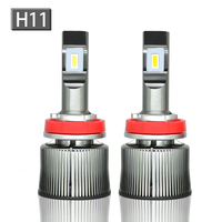 Highlight and highlight ledH1 H4 H7 H8/H9/H11 9005/HB3 9006/HB4 9012 automobile headlights, fog lights 60w 6000lm 6000 6500k