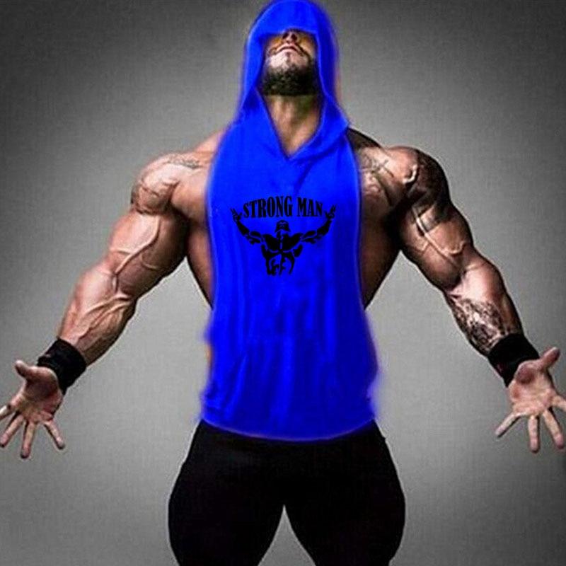 STRONG MAN blue