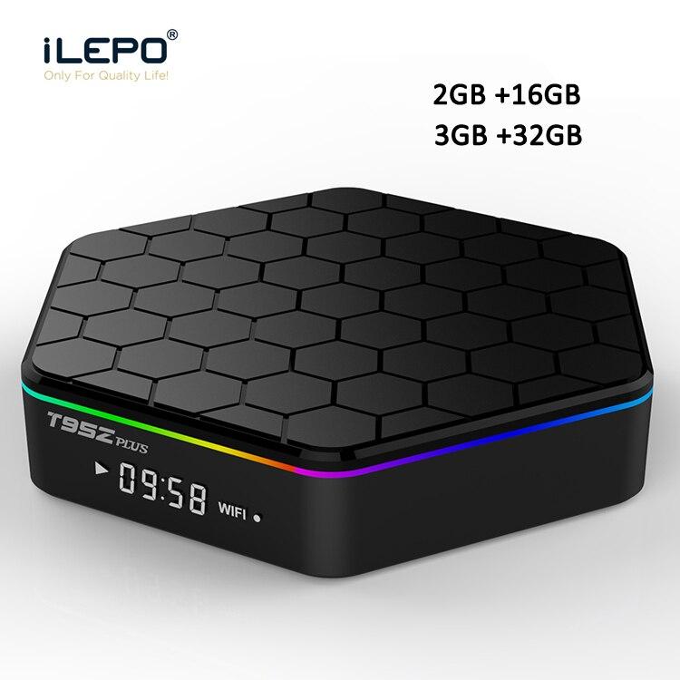 iLEPO T95Z Plus Android 7 1 Smart TV Box Amlogic S912 Octa Core Cortex 2G 16G