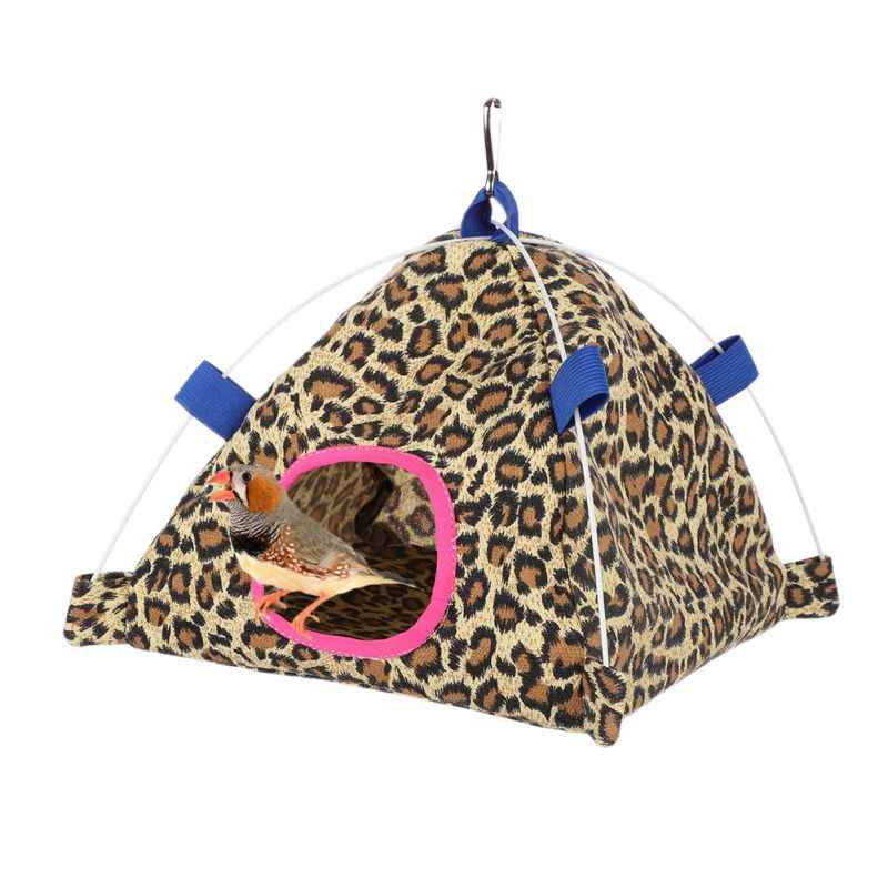 Pet Multi-Shapes House Small Animals Canvas Tent Bird Hamster Hammock  Hanging Nest Small Dog Printed Mascotas House Bed