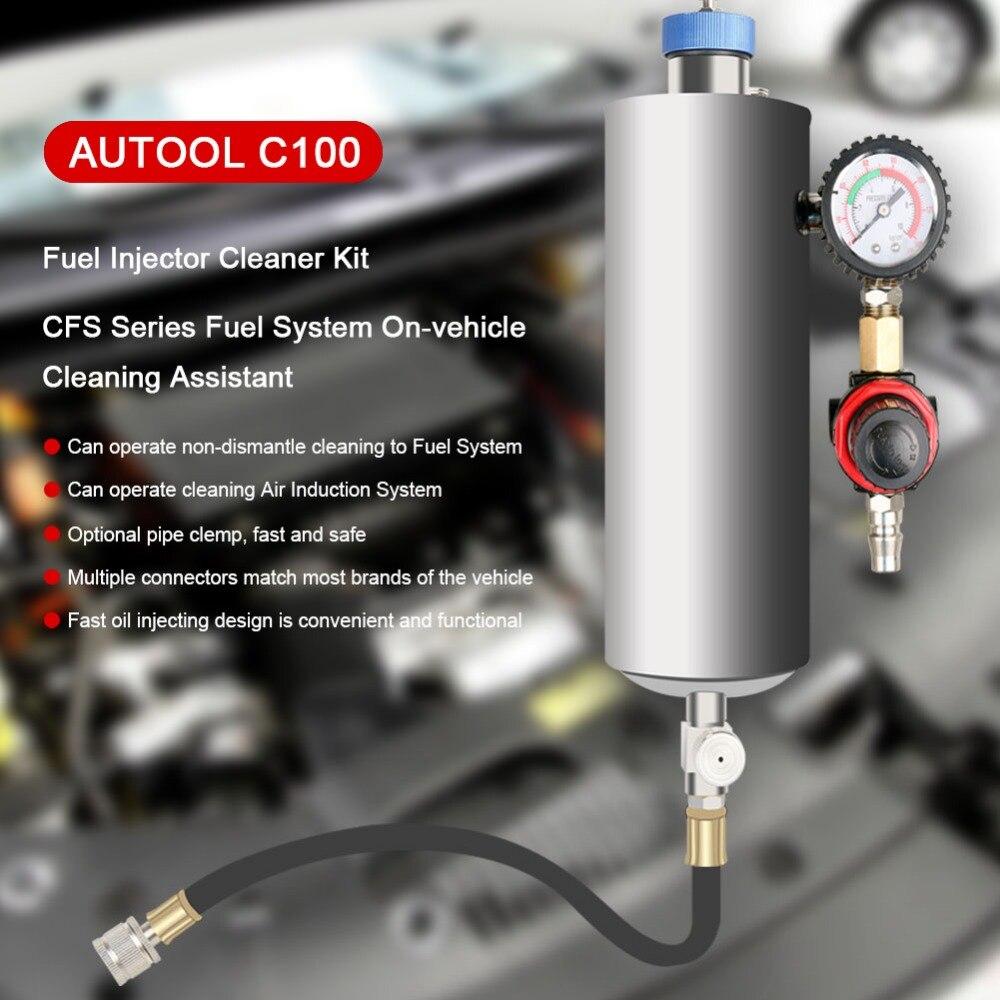 AUTOOL C100 Fuel Injector Clean kits (6)