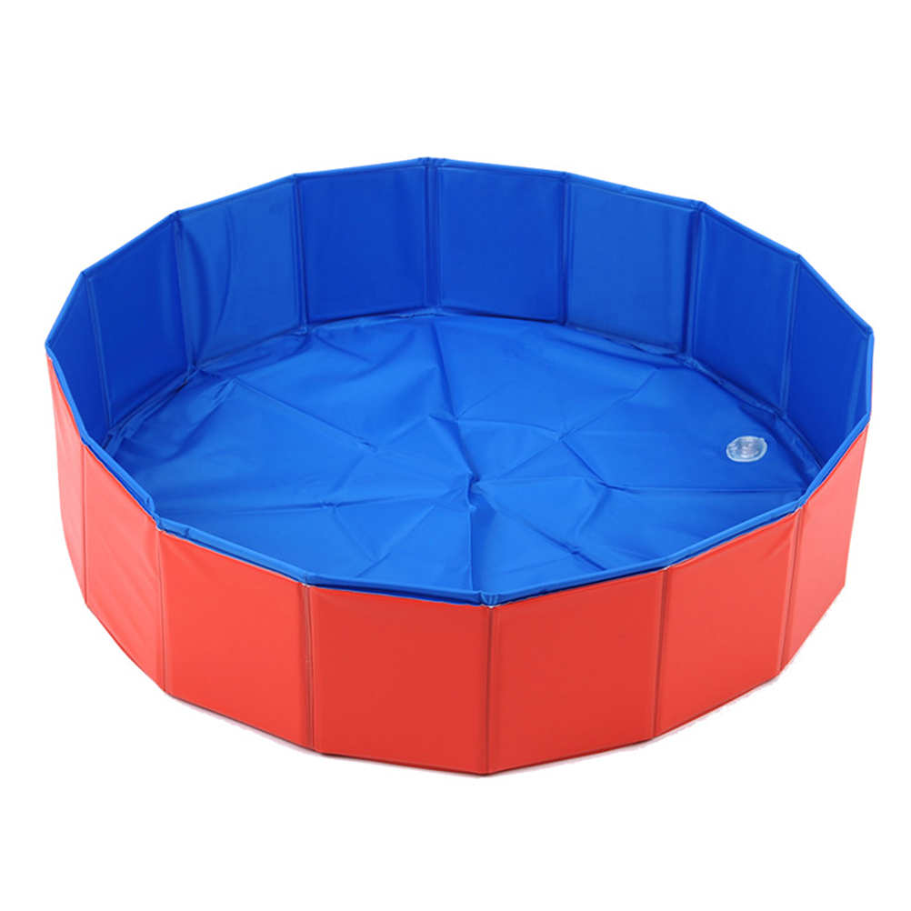 pieghevole del cane piscina per bambini pet puppy nuoto balneazione vasca vasca da bagno cane gatti