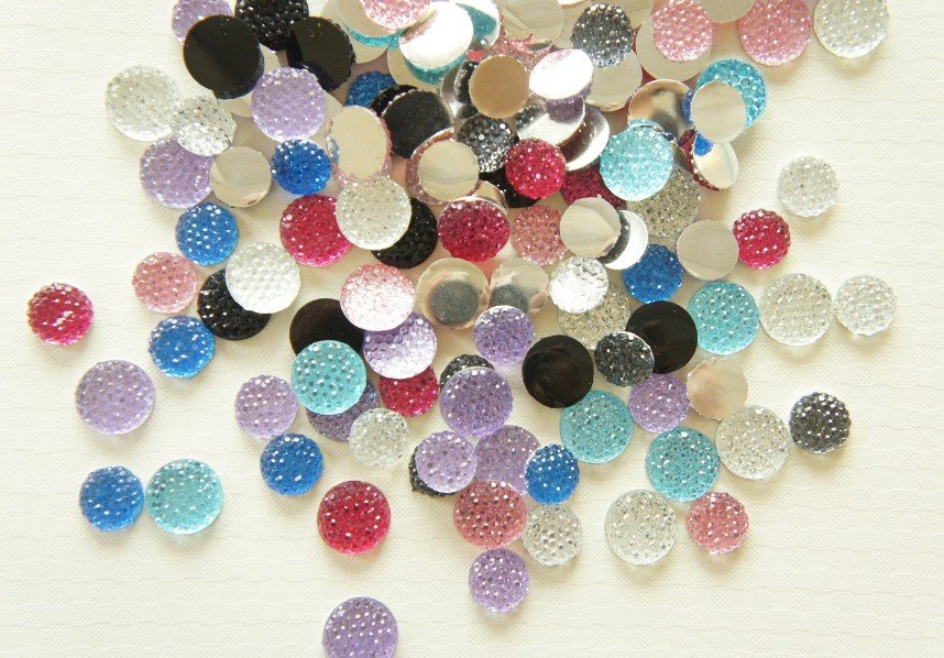 Acrylic Stones Manufacturers Mail: Aliexpress.com : Buy 700 Pcs Of Round Bling Resin Acrylic