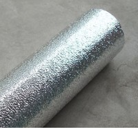 Kitchen Cabinet Aluminum Foil Paper Waterproof Self Adhesive Thickening Reflective Insulation Wallpaper