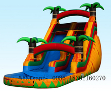 PVC inflatable water slide commercial slides bouncer with  for kids