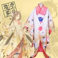 Kara no Kyoukai Ryougi Shiki Hana Yome Bride Cosplay Costume Free Shipping