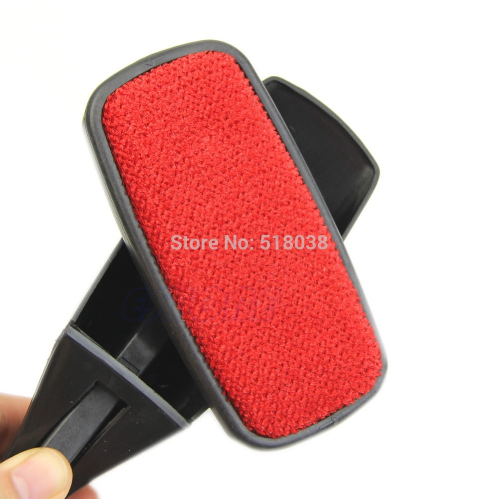 Magic Swivel Pet Hair Remover Lint Dust Brush Clothing Cloth Dry Cleaning New