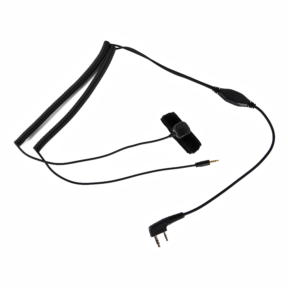 Vimoto V3 V6 V8 V1098a V5s Hełm Bluetooth zestaw słuchawkowy specjalny kabel połączeniowy dla Kenwood Baofeng UV-5R UV-82 GT-3 Two Way Radio