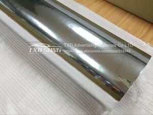 Image 3 - 50CM*100CM TO 500CM High stretchable mirror silver Chrome Mirror flexible Vinyl Wrap Sheet Roll Film Car Sticker 10/20CM x152CM
