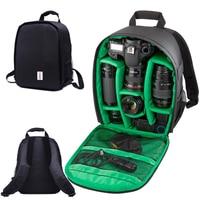 Waterproof multi functional Digital DSLR Camera Video Bag w/ Rain Cover SLR Camera Bag PE Padded for Canon Nikon Photographer