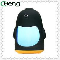 USB Portable Mini Cartoon Penguin Aromatherapy Diffuser Oil Spreader Air Humidifier Aromatherapy Sprayer Atomizer Home Car