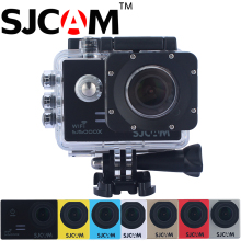 цена на 100% Original SJCAM SJ5000X Elite WiFi 4K 2.0 Screen 30M Waterproof Sports Action Camera Car Mini DVR+2 Battery+A Dual Charger