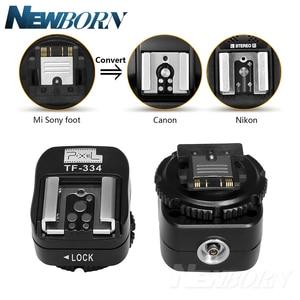 Image 1 - פיקסל TF 334 חמה נעל מתאם להמרת Sony Mi A7 A7S A7SII A7R A7RII A7II מצלמה כדי Canon Nikon Yongnuo פלאש Speedlite