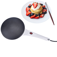 Electric Crepe Maker Pizza Machine Frying Pan Pancake Machine Baking Pan Cake Machine Non stick Griddle Kitchen Cooking Tools