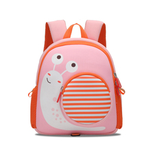 Toddler Children School Bag for Boys Kids Waterproof Backpack Kindergarten Girls 3D Cartoon Snail Shape Mochila for 2-5 Years toddler children school bag for boys kids waterproof backpack kindergarten girls 3d cartoon snail shape mochila for 2 5 years