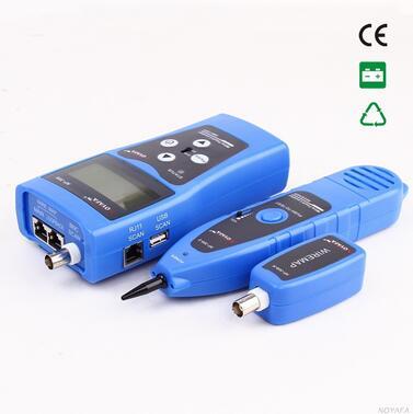 Livraison Gratuite! NOYAFA NF-308B réseau Ethernet LAN testeur Tracker téléphone 5E 6E RJ45 11 fils USB câble coaxial - 3