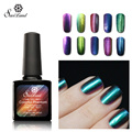 Saviland 1pcs Gel Varnishes Colorful Phantom Nail Gel Polish Chameleon Mood Color Changing 10ml 24 Colors for Choose