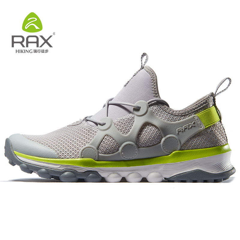 Rax Men's Hiking Shoes Antiskid Outdoor Trekking Sneakers for Men Lightweight Mountain Shoes Breathable Climbling Outdoor Shoes rax men s waterproof hiking shoes outdoor multi terrian mountain climbing backpacking trekking sneakers lightweight with gift