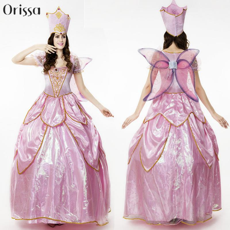 Hot Sexy Elegant Deluxe Fairy Godmother Costume Adult Glinda Wizard Of Oz Halloween Fancy Dress Fairy Godmother Adult Costumes-in Sexy Costumes from Novelty ...  sc 1 st  AliExpress.com & Hot Sexy Elegant Deluxe Fairy Godmother Costume Adult Glinda Wizard ...
