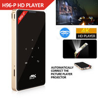 Hotsale H96 P Mini DLP 4 k Projecteur Quad Core Android Tragbare Home Video Theater Bluetooth HD IN 5g WIFI TV box 2gb 16g-in Digitalempfänger aus Verbraucherelektronik bei