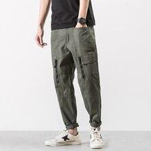 2017 Мужчины марка Одежды Военная Cargo Pants Армия Зеленый черный мешковатые Штаны Хлопчатобумажные Брюки для мужчин Штаны Большой Размер 2XL