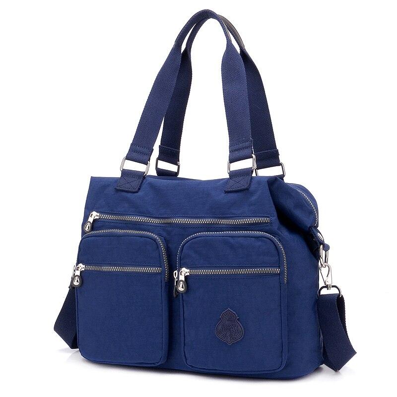 New arrival Fashion women messenger bags Large Capacity shoulder bag nylon bags Waterproof casual handbag for teenagers