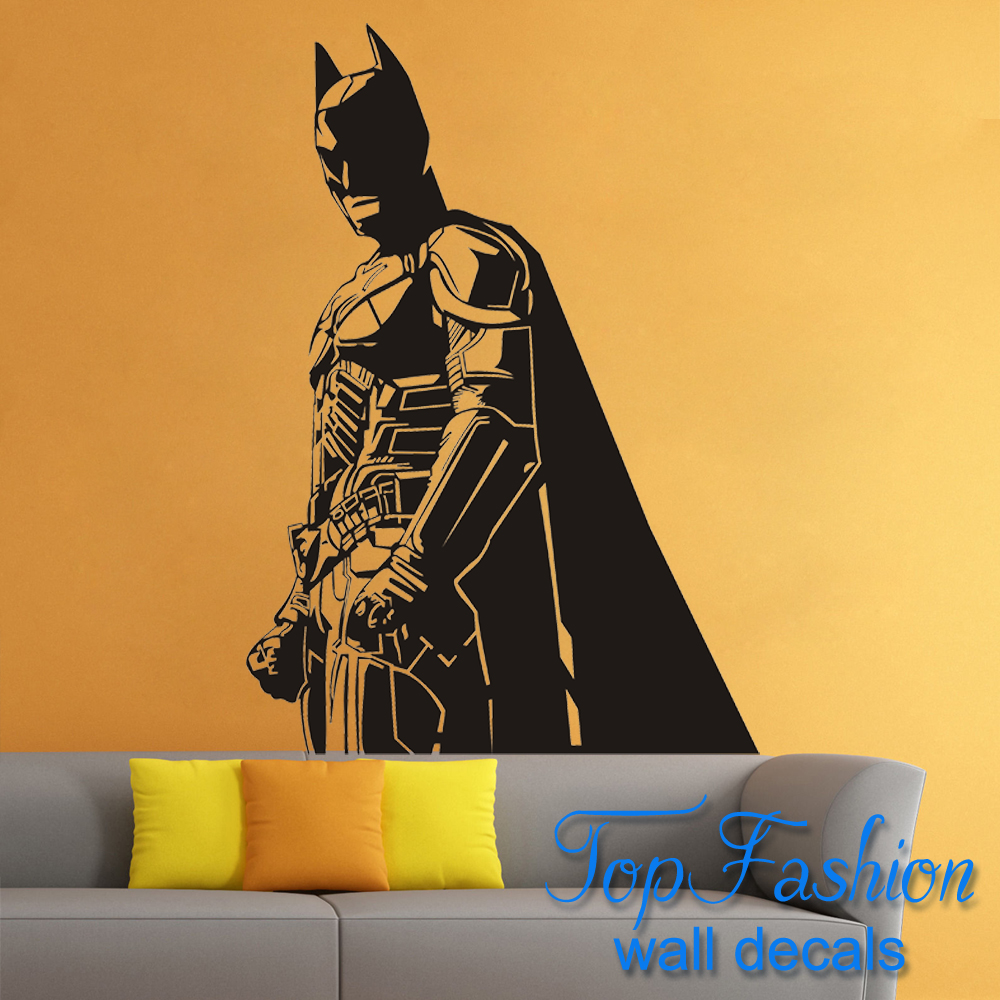 Batman Wall Decal Vinyl Sticker The Dark Knight Superhero Atr Home ...