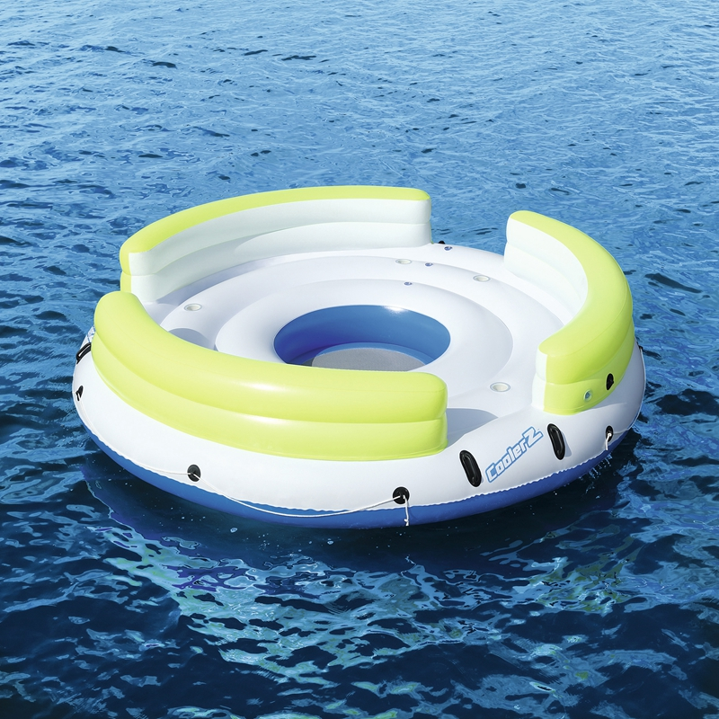 6 Person Giant Inflatable Round Lazy Day Party Island Float Boat Swimming Pool Floats Sea Longue Bed Water Toys Lake Raft Aliexpress Imall