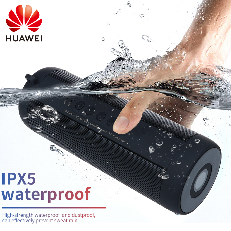 Huawei Bluetooth speaker Portable Wireless Loudspeakers For Phone Computer Stereo Music surround Waterproof Outdoor Speakers Box(China)