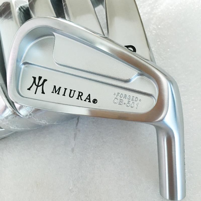 ▻Nuevo mens cooyute Golf cabeza Miura CB-501 forged clubs Head set ...