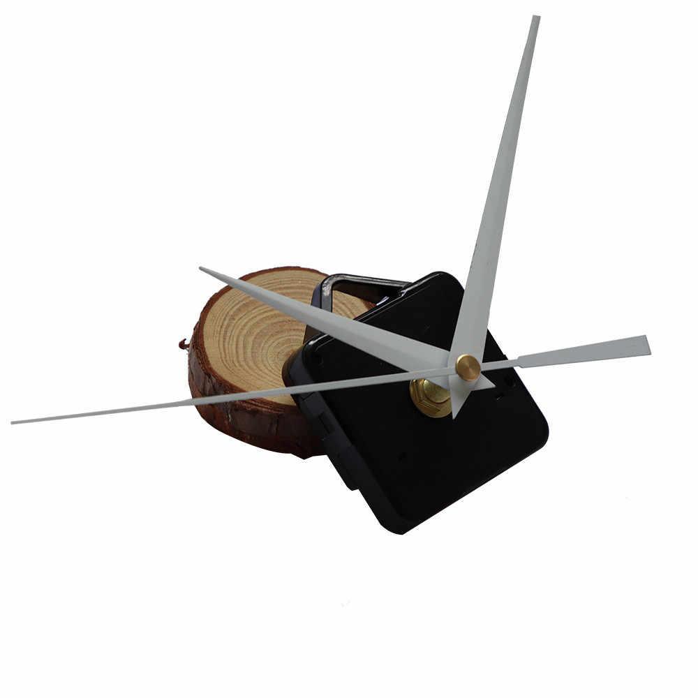 DIY reloj de cuarzo mecanismo de movimiento manos de reparación de la pared piezas Kit silencioso conjunto para decoración del hogar Dropshipping Mar05