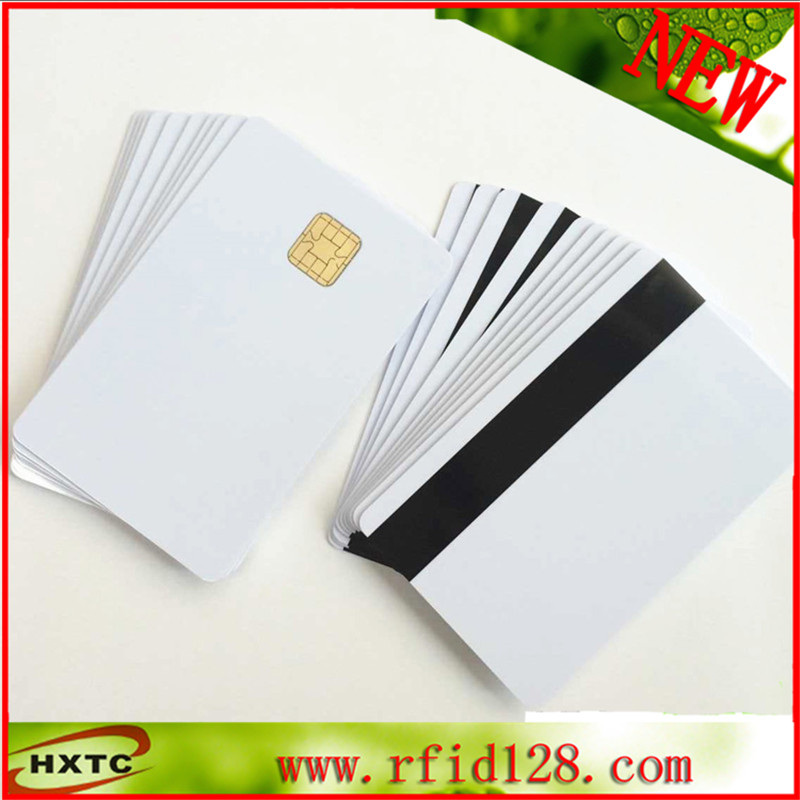 Hi-Co magnetic stripe J2A040 chip card With MasterCard 100pcs/lot 200pcs lot customable 8 4mm mag stripe 2 track pvc smart ic card for iso hi co 2750 3000 4000 oe