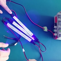 275nm 9 Pieces LEDs 50mW DC 7V for Bag,Box or Closet Disinfection 99.99% in 3 Minutes