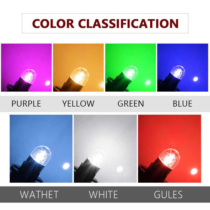 2 шт. сигнальная лампа 3030 T10 светодиодная автомобильная лампа W5W Led T10 Светодиодные лампы для автомобилей Белый 5W5 зазор резервный Обратный Свет автостайлинг