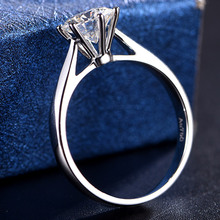 Andy  jewelry Mullite ring 18K rose gold Custom platinum PT950 rings European and American fashion accessories