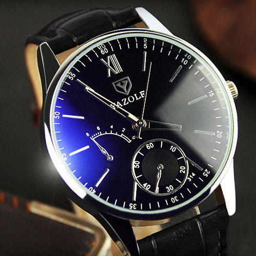 YAZOLE Quartz Watch Men 2017 Fashion Mens Watches Top Brand Luxury Famous Wrist Watch Male Clock