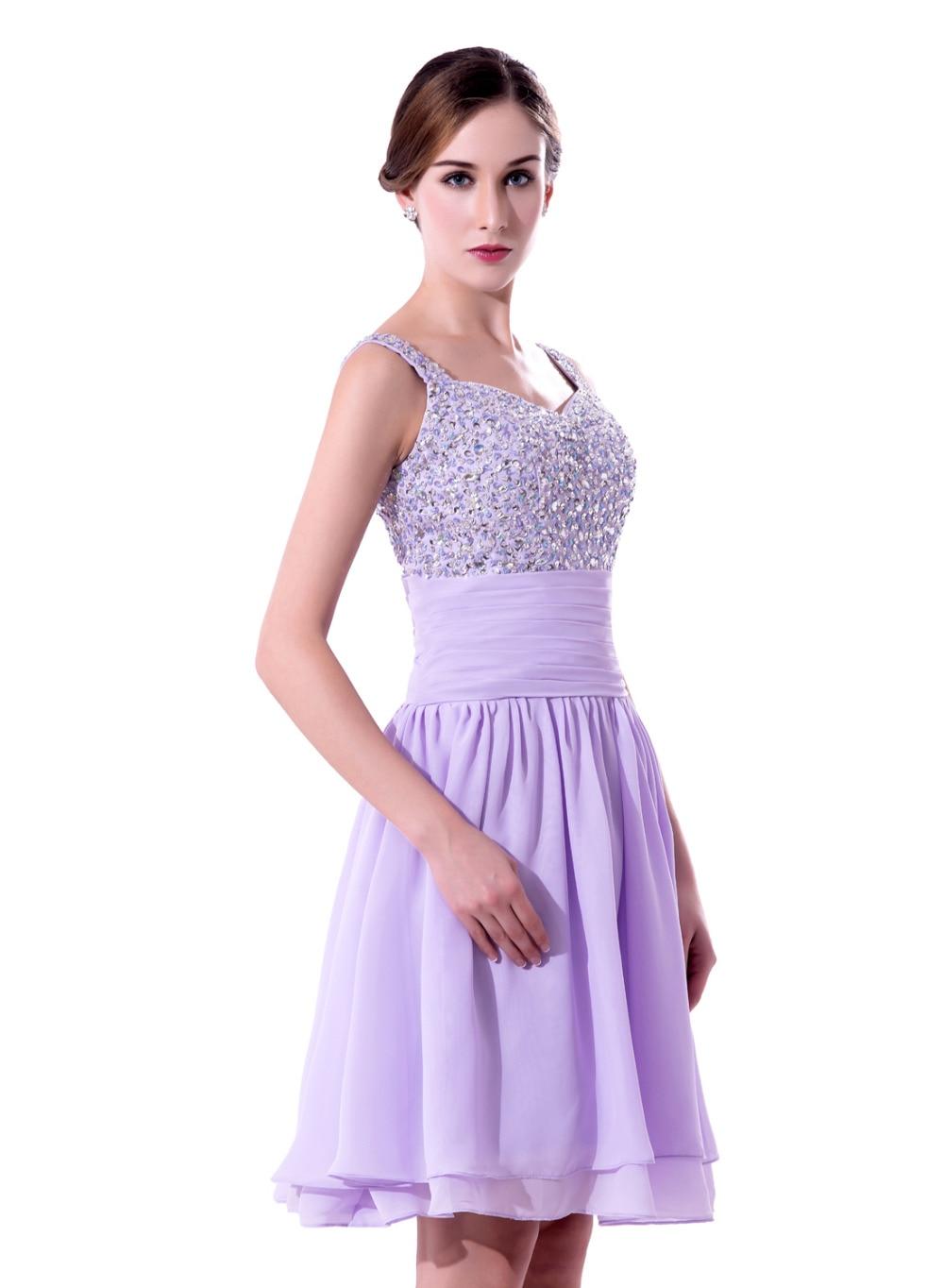 Único Vestidos De Las Damas De Luz Púrpura Cresta - Ideas de Estilos ...