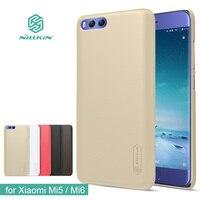 Original Nilkin Super Frosted Shield Hard Back PC Cover Case For Xiaomi M5 Mi5 Phone Case