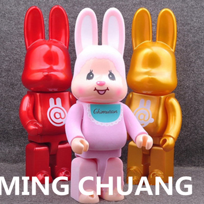 11 Inches Be@rbrick 400% Bearbrick Lovely Rabbit BB PVC Action Figure Collectible Model Toy D171 цена