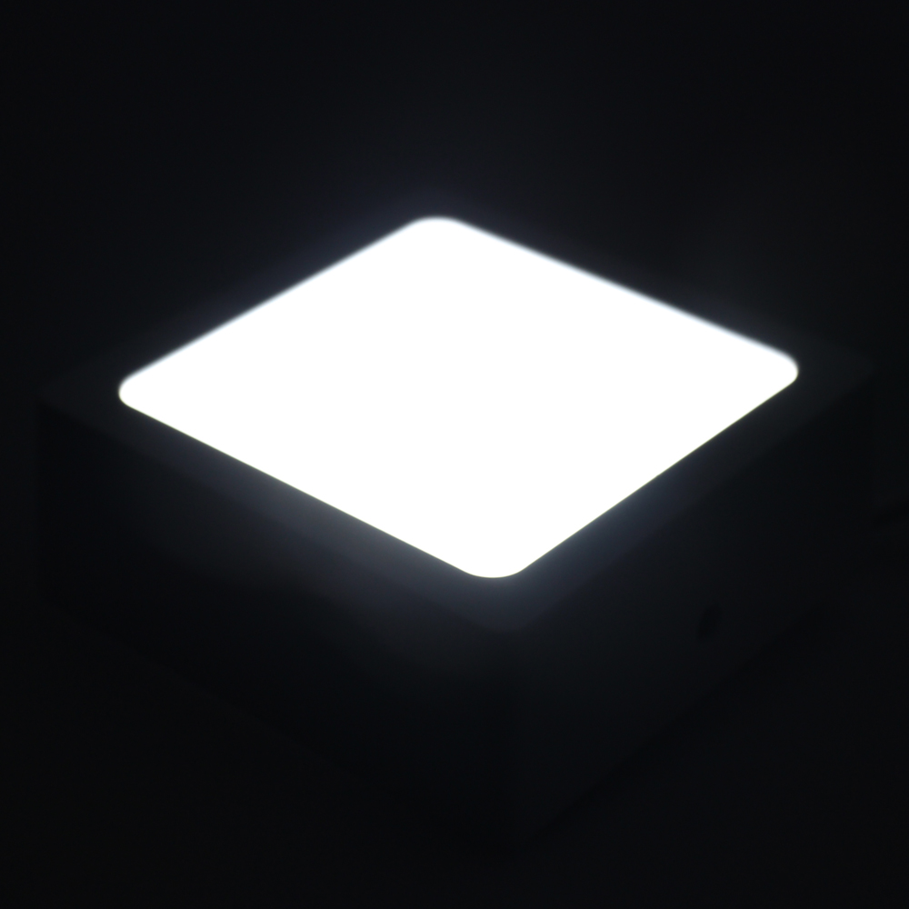 Surface Mounted LED Panel Light 8W Square LED Ceiling Lights LED Downlight AC85-265V Lamp Body Driver In ONE For Indoor <font><b>Lighting</b></font>