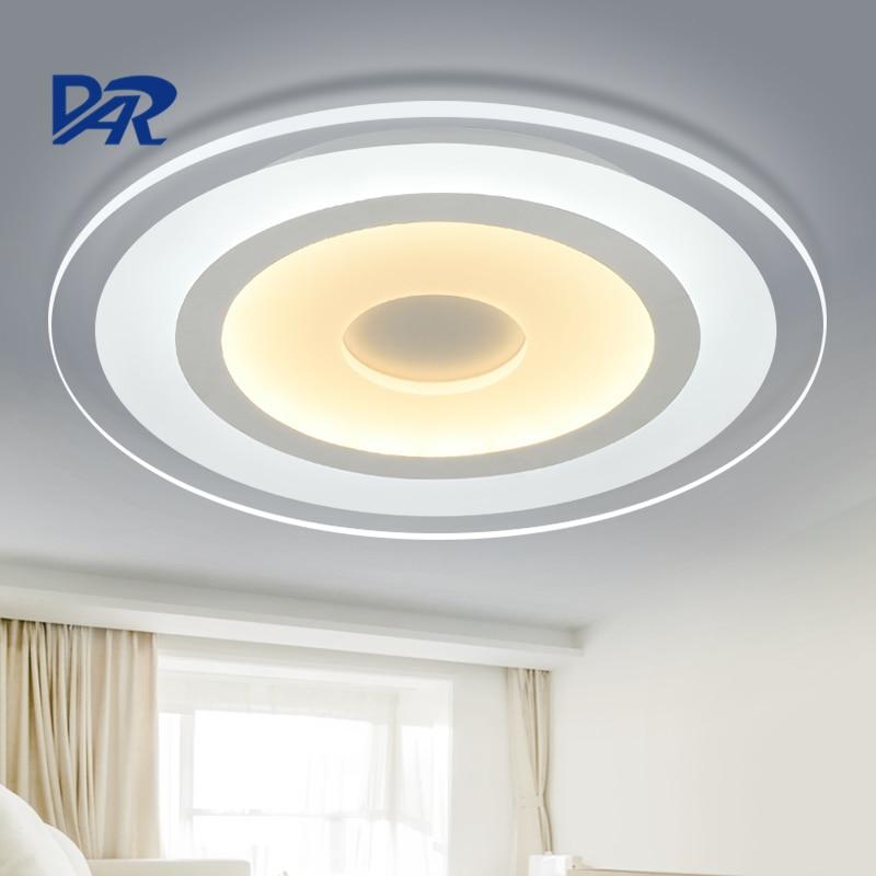 Dia 20/42/52/62 / 78cm kulaté moderní LED stropní svítidla pro svítidla do ložnice Obývací pokoj lamparas de techo luminaria lampe