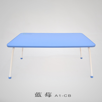 Creative bed notebook computer desk for children to learn computer table lazy Colorful standing desk